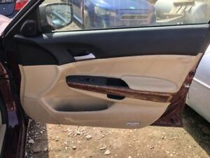 2011 Honda Accord Ex L Passenger Right Front Door Trim Panel Tan 08 12