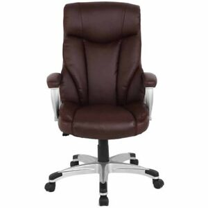Proht High back Executive Ergonomic Office Chair Brown Local Pickup Free