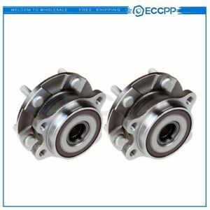 Pair 2 Front Wheel Hub And Bearing Assembly For Toyota Rav4 Scion Lexus Hs250h