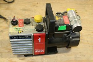 Edwards E2m 1 Two Stage Vacuum Pump Working