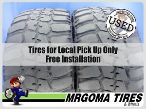 2 Federal Couragia M T 33x12 50 20 Used Tires 7 2 32 No Patch 114q 33125020