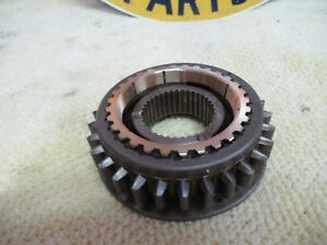66 67 Saginaw 4 Speed 1 2 Reverse Synchro Assembly W rings Early Type