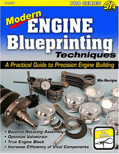 Modern Engine Blueprinting Techniques Precision Engine Building Pro Book new