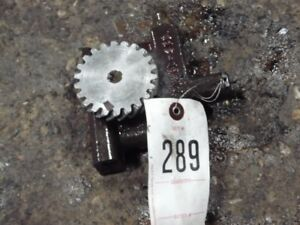 Massey Ferguson 40 Tractor Engine Oil Pump Part 21202 400 Tag 289