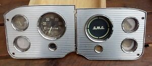 1955 Thru 1959 Gmc Truck Dash Instrument Cluster
