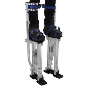Selva Drywall Stilts 15 23 Professional Adjustable Aluminum Painting Lift Tool