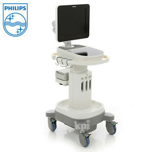 Sparq Ultrasound Philips Healthcare Machine System W Buttonless Interface
