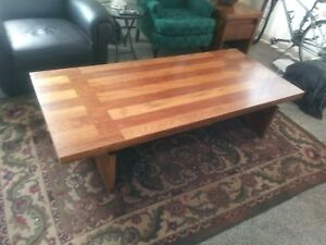 Large Vintage Lane Coffee Table Mcm Strong Wondeful Color Condition Style 1448