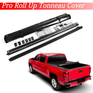 1999 2007 Silverado Sierra 1500 Short Bed 6 6 Lock Roll Up Tonnuea Cover Vinyl