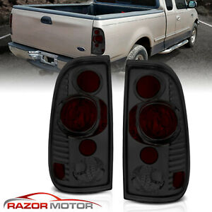 1997 2003 Smoke Tail Lights Pair For Ford F150 1999 2007 F250 F350 Super Duty
