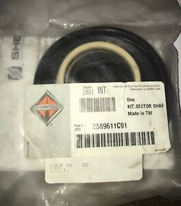 International 2589611c91 Steering Gear Sector Shaft Seal Kit With Sector