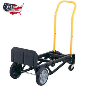Hand Truck Dolly Trolley For Moving Furniture Appliance Luggage Mover Push Cart