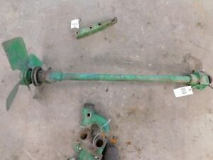 John Deere 60 Tractor Fan Shaft With Fan Part a4188r B290r Tag 650