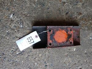 Allis chalmers C Tractor Bottom Radiator Support Tag 657