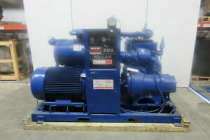 Worthington Rollair 200 Rotary Screw Air Compressor 200hp Water Cooled 8948 Hrs