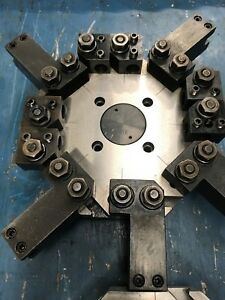 Hardinge Cnc Chnc 8 Slot Tool Holder 3 8 Turret Plate Include Cc Tool Holders