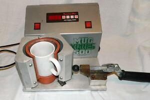 Mug Xpress 500 Digital Temp Mug Heat Press Machine