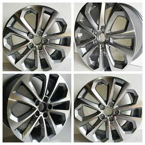 18 Honda Accord Wheels Rims 2008 2009 2010 Silver Rim Set Of 4 New 63937