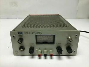 Hp Agilent 6299a Dc Power Supply 0 100v 0 75a W Opt 011 040 Load Tested