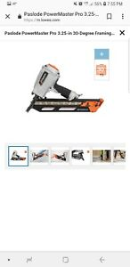 new Paslode Powermaster Pro 30 Framing Nailer F 350p 515000