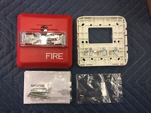 New Siemens Zh mc r Fire Alarm Horn Strobe Red 500 636161 quantity Available