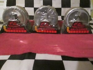 3 Nice Nos Vintage Air Cleaners Neck Size 2 5 8 Rat Rod hot Rod street Racer