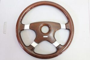 Momo Astra Vintage Timber Wood Steering Wheel 350mm 1988 Made In Italy