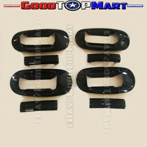 Fit Lincoln 2003 12 Navigator Ford 03 2016 Expedition Black 4 Door Handle Cover