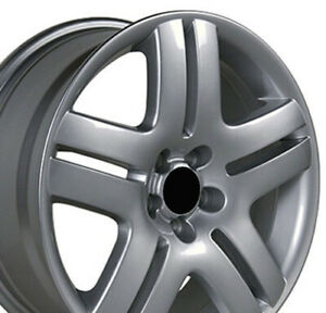 17 Rims Fit Volkswagen Vw Jetta Passat Golf Silver Wheel 69751 Set