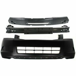 Front Bumper Cover Kit For 2008 2010 Honda Accord 4cyl W Absorber Reinforcement