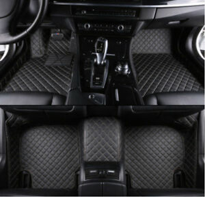For Toyota Tundra 2007 2018 Leather Car Floor Mats Waterproof Mat