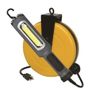 Alert Stamping 5050cl8 50ft 8 Watt 900 Lumen Led Worklight Retract Reel