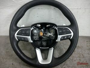 2017 Dodge Challenger Steering Wheel Heated Leather Paddle Shift Oem 1954916