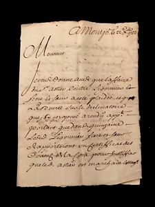 1733 Letter To A Lawyer In Parliament