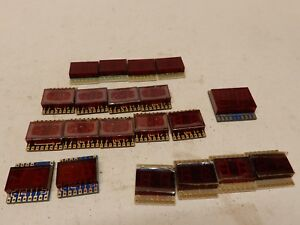 Large Lot Of Two Digit Pcb Seven Segment Displays Nsn373 Dl 2310 Nsn581