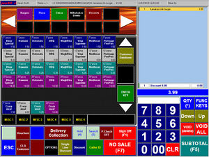 Epos4u Pos Software For Takeways pizza kebab fish n chips delivery Collection