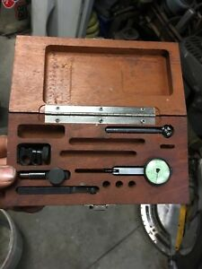 Federal T 2 Testmaster Dial Test Indicator 0001 Milling Machine Machinist Tool