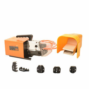 Am 10 Pneumatic Crimping Tool 5 Free Dies 13 5 Kn Tool Set Dual action Cylinder