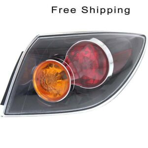 Tail Lamp Assembly Passenger Side Fits Mazda 3 Hatchback 2004 2006 Ma2801125