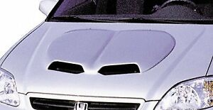 Jsp Universal Hood Scoop 1996 2000 Honda Civic Primed 33 By 27 By 1 Inch P3001