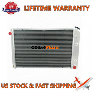 3row Aluminum Radiator For Chevy Pickup Trucks 73 87 Truck 21 X 33 1981 91