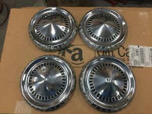1960 1964 Mercury Comet Ford Falcon 9 1 2 Dog Dish Poverty Hubcaps 1961 1962 63