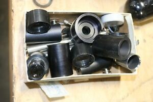 Lot O Carl Zeiss And Others Microscope Parts