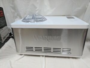 Waring Commerical Wcic20 Electric 2 Quart Ice Cream Maker Machine