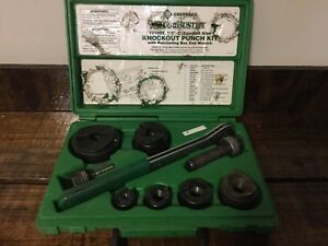 Greenlee 7238sb Slug Buster Knockout Punch Set Complete 1 2 2
