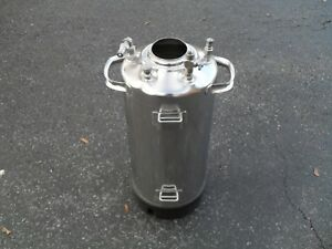 Stainless Steel 9 X 24 Tank Salvaged From Pressure Washer 181229 12