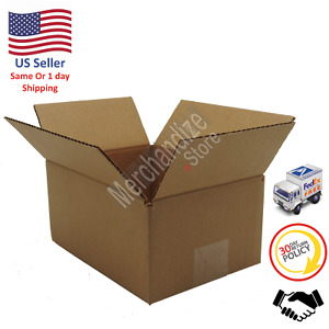 200 8x6x4 Corrugated Cardboard Shipping Mailing Packing Moving Boxes box Carton