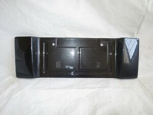 Celica Oem Jdm Zzt231 230 For Toyota 00 05 Trd Carbon License Plate Holder
