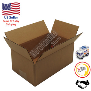 100 10x6x4 Corrugated Cardboard Shipping Mailing Packing Moving Boxes box Carton