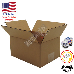 50 10x8x6 Corrugated Cardboard Shipping Mailing Packing Moving Boxes box Carton